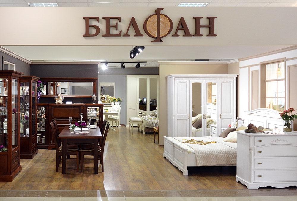 Магазин «Белфан» в Санкт-Петербурге