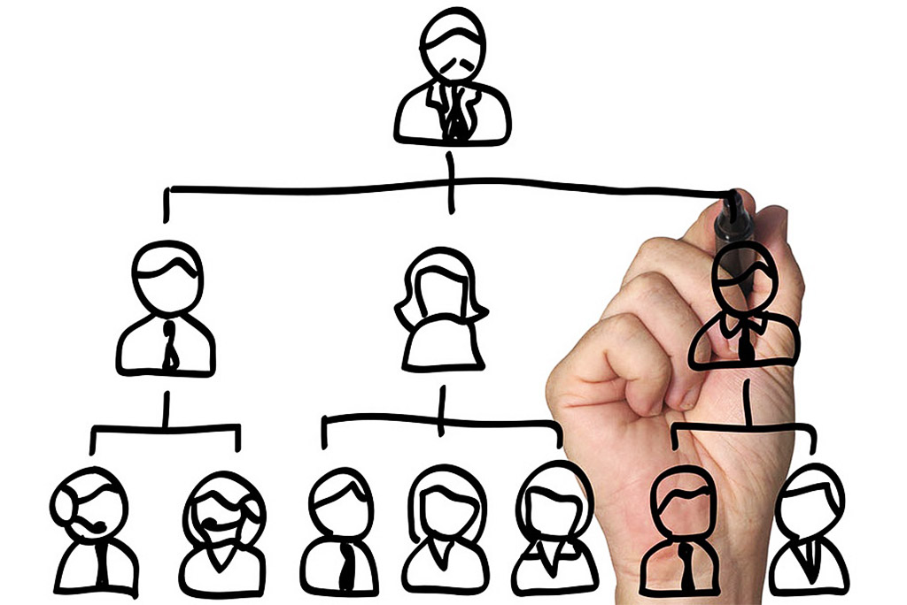 Этапы делегирования по мере развития организации