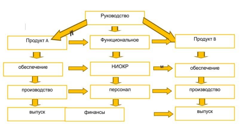 Матричный вид структуры