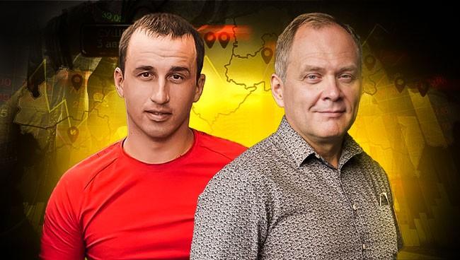 Александр Высоцкий и Виталий Гнедков